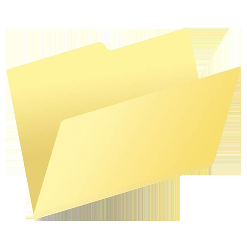 FOLDER AMARILLO CARTA