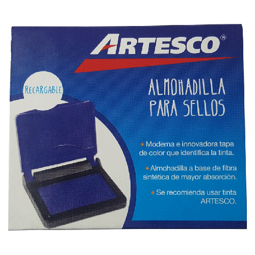 TAMPO AZUL MINI ARTESCO